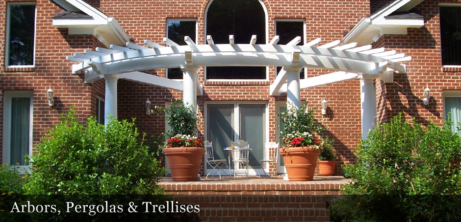Arbors, Pergolas, and Trellises